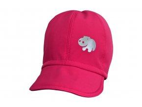 soft čepice pink hippo