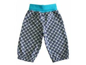 dětské letní plátěné kalhoty Kotva