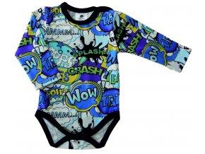 oblečení pro miminka kojenecké bodycka CRASH