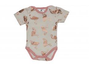 oblečení pro miminka, kojenecké body Hippokids s krátkým rukávem, letní kojenecké body