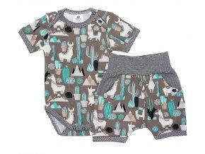 Kojenecké oblečení pro miminka, kojenecké kraťásky, kojenecké body s krátkým rukávem, set pro děti, Hippokids