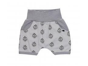 Oblečení pro miminka, kojenecké oblečení, kojenecké kraťasy Kotva Proužek pro miminka, Hippokids