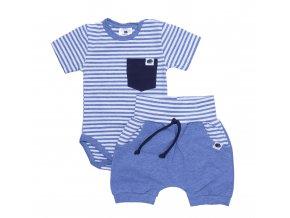 Nová kolekce oblečení pro miminka Sailor blue. Polodupačky, kojenecká souprava, kojenecké body, kojenecké kraťásky, kojenecká souprava s krátkým rukávem v námořnickém stylu. Modro bílá letní souprava pro miminka Sailor.