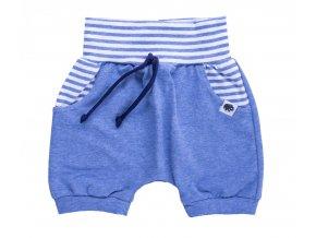 Kojenecké kraťasy pro miminka Sailor blue