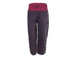 Zimní softshellové kalhoty Dark pink. Zateplené kojenecké a dětské kalhoty zateplené fleesem. Oblečení pro miminka, kojenecké soupravy, body, tepláčky, bunda a kalhoty. Vyrobeny v Česku.