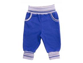 Oblečení pro miminka, kojenecké oblečení, polodupačky Hippokids Classic Powerfull modré. Oblečte vaše miminko do nestárnoucí klasiky polodupaček značky Hippokids Classic s proužky. Rostoucí tepláčky s ohrnovacím nápletem.
