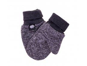 Kojenecké zateplené rukavičky Polar šedá. Oblečení pro miminka, kojenecké soupravy, body, tepláčky, bundy, polodupačky, čepice. Růžová čepice a nákrčník. Podzim zima.Vyrobeno v Česku z té nejkvalitnější bavlny.