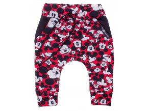 Kojenecké tepláčky se sníženým sedem Hippokids Mickey. Kojenecké a dětské polodupačky z teplákoviny. Oblečení pro miminka, kojenecké soupravy, body, tepláčky, bunda a kalhoty. Vyrobeny v Česku. Mickey mouse.