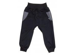 Dětské tenké softshellové kalhoty Hippokids Baby šedá. Jarní softshellové kalhoty pro děti a pro kojence. Softshell pro deštivé počasí. Oblčení pro děti a pro miminka. Černý softshell, černé kalhoty. Jarní soft.