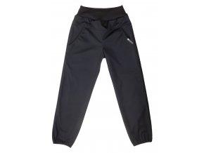 Jarní softshellové kalhoty. Oblečení pro miminka, oblečení pro děti, tenké softshellové kalhoty pro děti. Softshellové kalhoty, kalhoty, holka, kluk, neutrální barvy, neutrální, univerální.Kids černá. černé softky