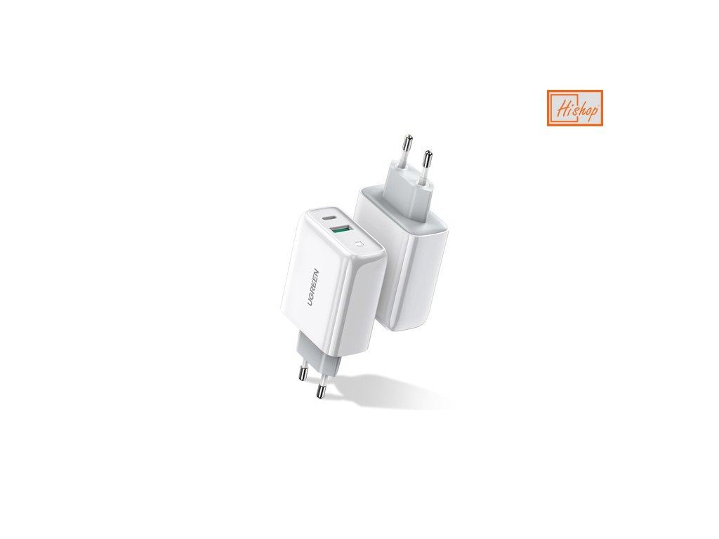 eng ps Ugreen wall charger USB Typ C USB 36 W Quick Charge 4 0 Power Delivery white 60468 CD170 60434 1
