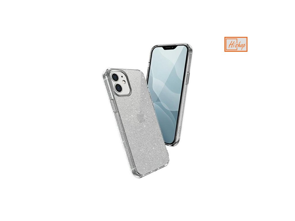eng pm UNIQ LifePro Tinsel protective case for iPhone 12 mini transparent 64778 1