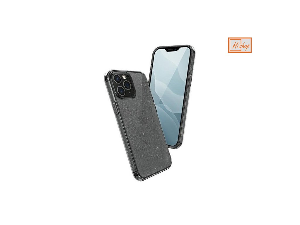 eng pm UNIQ LifePro Tinsel protective case for iPhone 12 Pro iPhone 12 black 64781 1