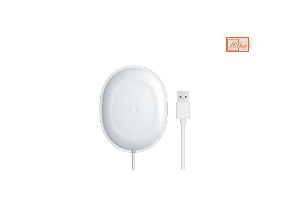 eng ps Baseus Jelly Qi wireless charger 15 W USB USB Type C cable white WXGD 02 61598 1
