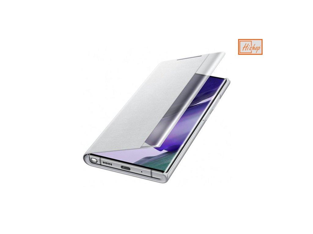 pol pm Samsung Clear View Standing Cover futeral etui z inteligentna klapka Samsung Galaxy Note 20 Ultra bialy EF ZN985CSEGEU 61992 1