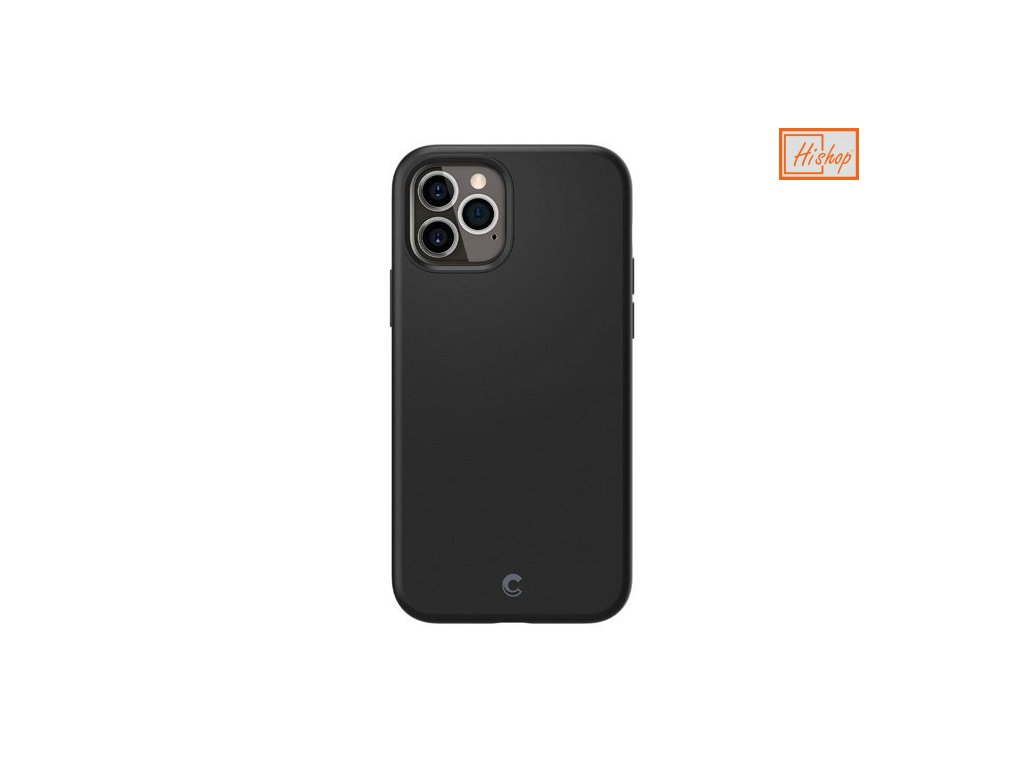 pol pm Spigen Cyrill Silicone iPhone 12 Pro iPhone 12 Black 64711 1