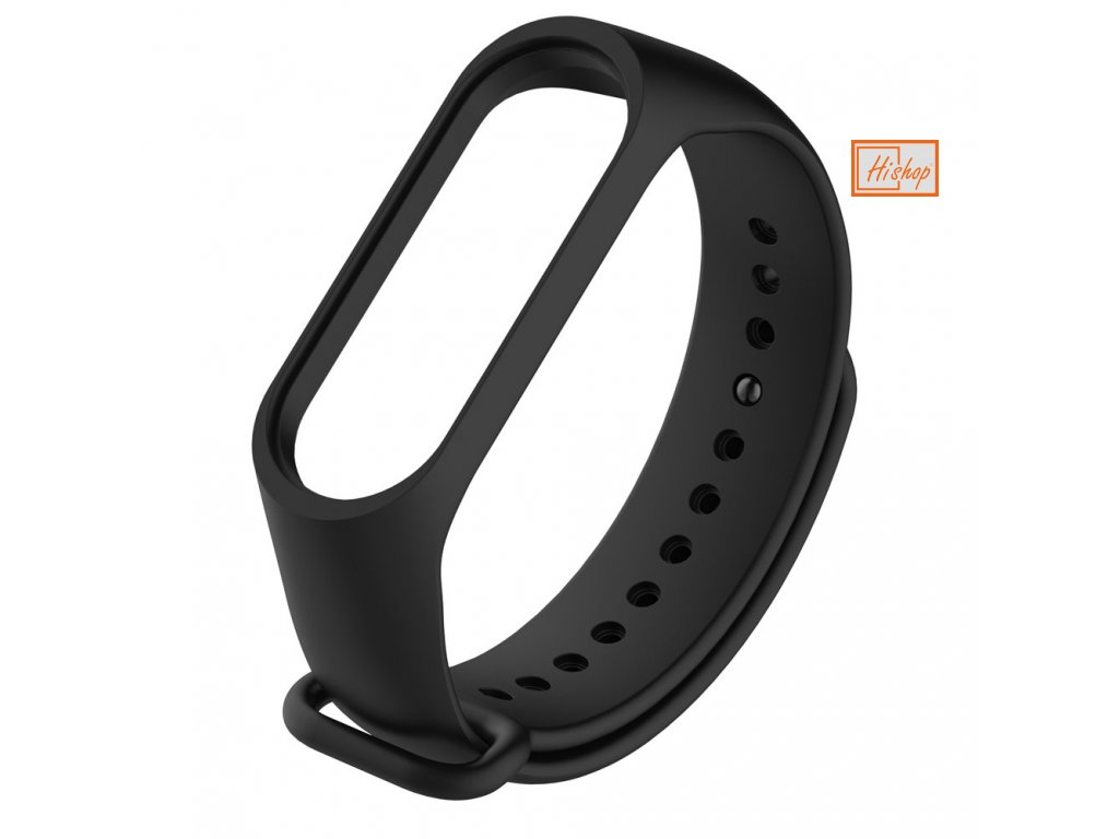 eng pl Replacement band strap for Xiaomi Mi Band 4 Mi Band 3 black 54216 1