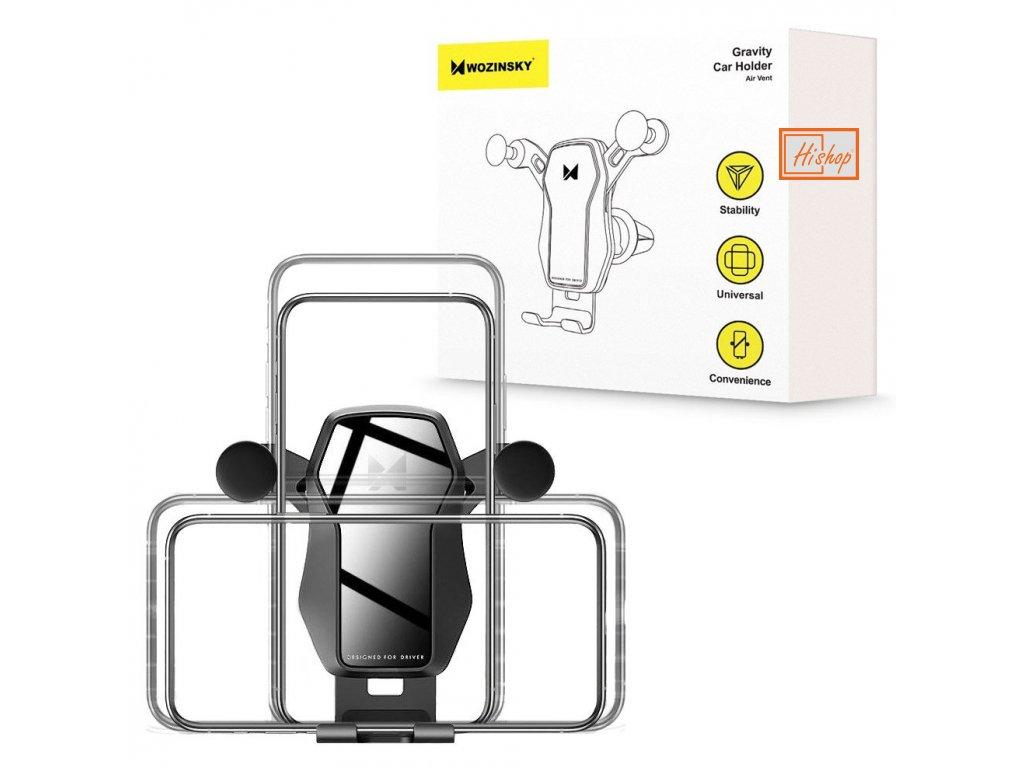 eng pl Wozinsky horizontal vertical Gravity Car Mount Phone Holder for Air Outlet black WCH 04 56774 13