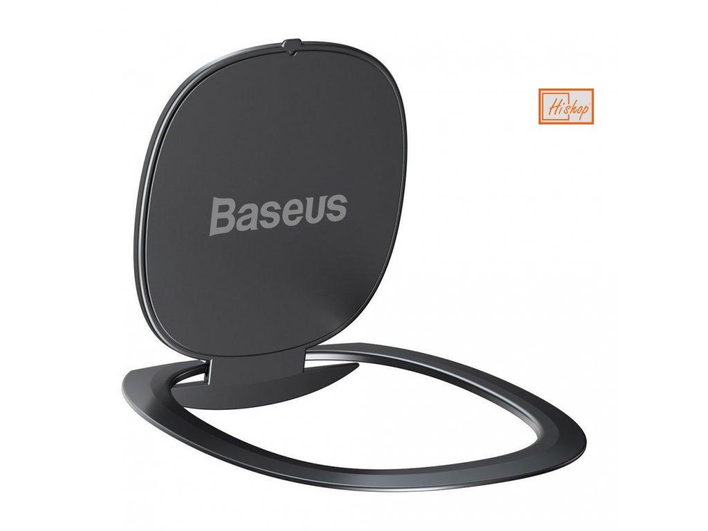 eng pl Baseus ultrathin self adhesive ring holder kickstand gray SUYB 0A 60573 3