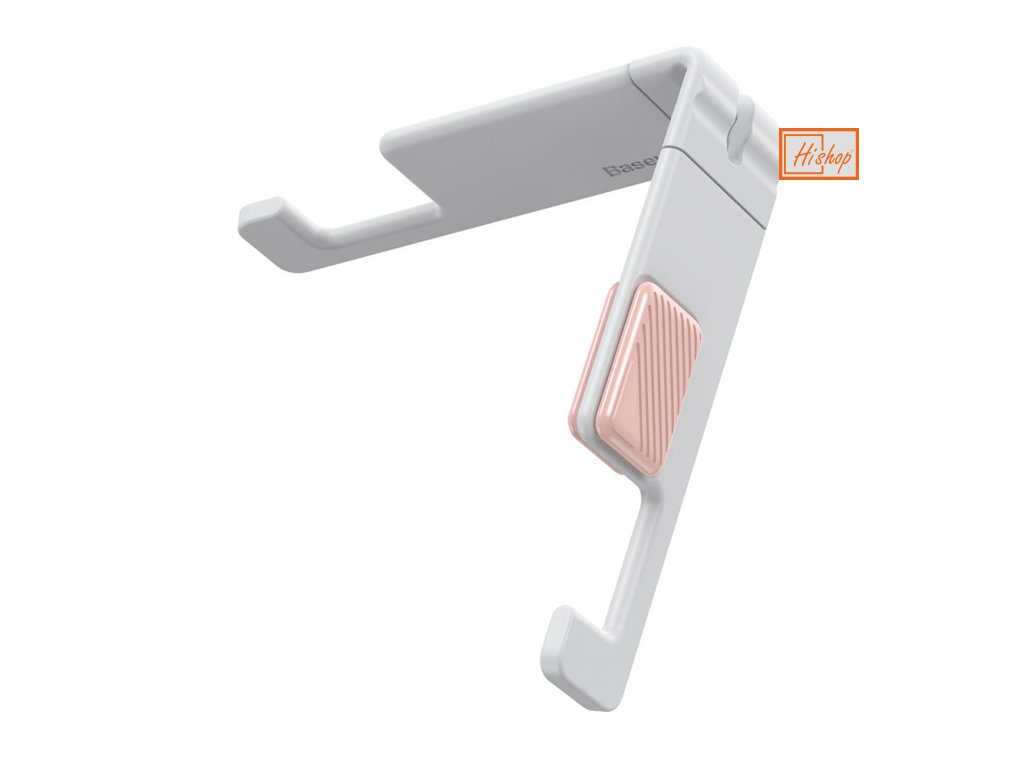 eng pl Baseus Lets go portable and mini mobile phone tablet holder stand white SUPM 24 60946 1