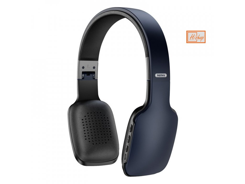 eng pl Remax Wireless Bluetooth Headphones 300 mAh black and gray 61079 1