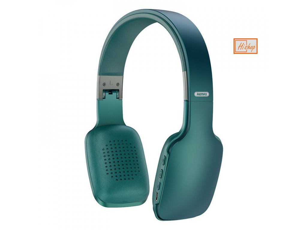 eng pl Remax Wireless Bluetooth Headphones 300 mAh blue 61081 1