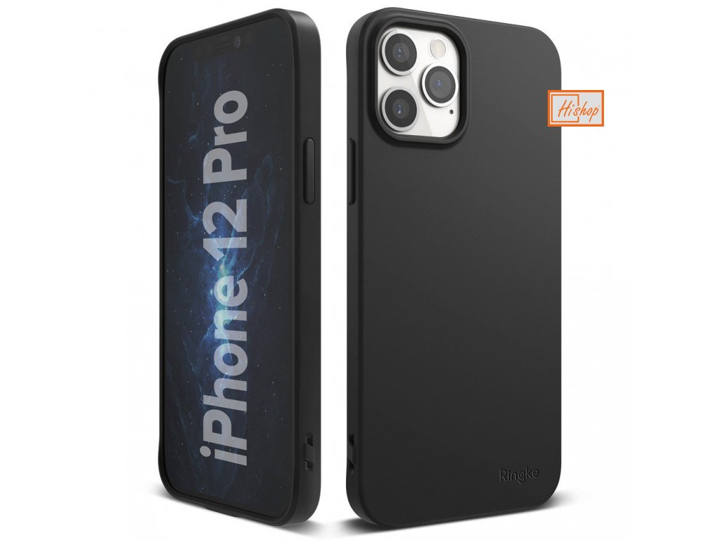 eng pl Ringke Air S Ultra Thin Cover Gel TPU Case for iPhone 12 Pro iPhone 12 black ADAP0028 63911 1