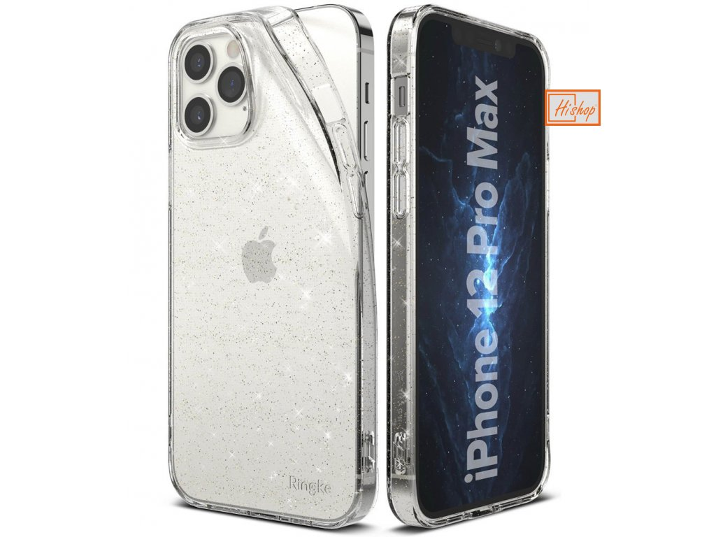 eng pl Ringke Air Ultra Thin Cover Gel TPU Case for iPhone 12 Pro Max Glitter transparent ARAP0041 63922 1