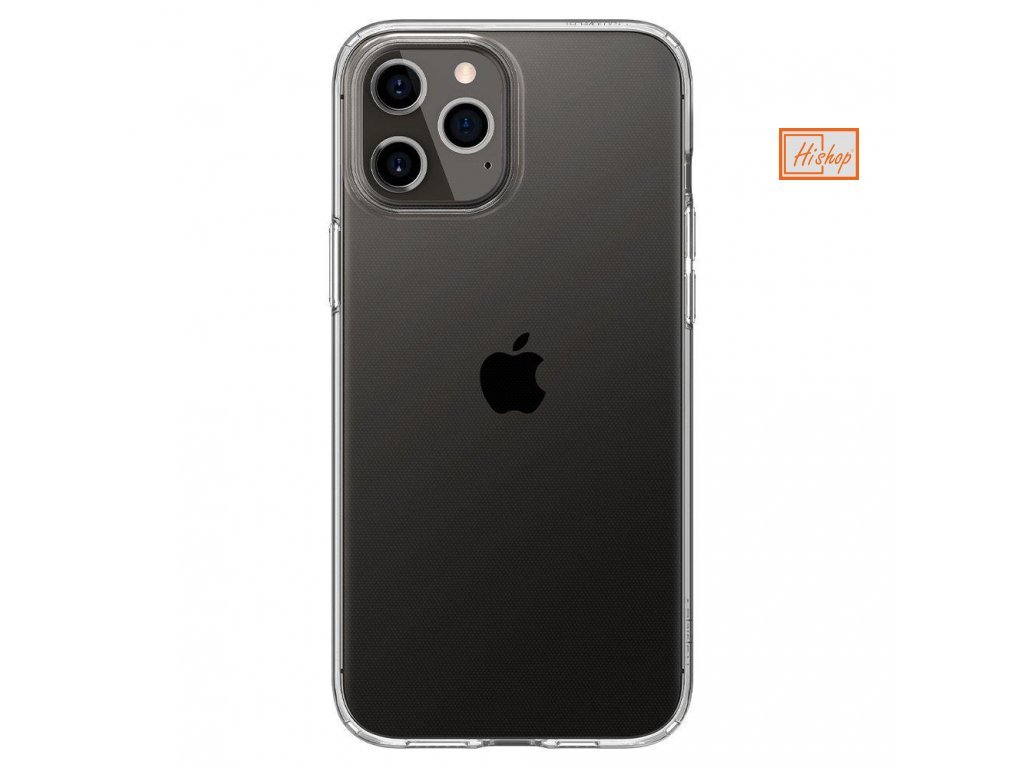 eng pl Spigen Liquid Crystal iPhone 12 Pro iPhone 12 Crystal Clear 64675 1