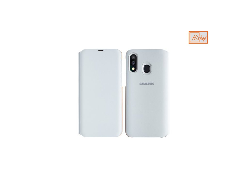eng ps Samsung Wallet Cover Bookcase with Card Slot for Samsung Galaxy A40 white EF WA405PWEGWW 50119 5
