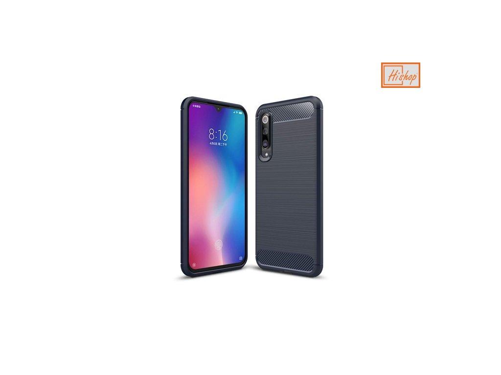 eng ps Carbon Case Flexible Cover TPU Case for Xiaomi Mi 9 blue 48411 1