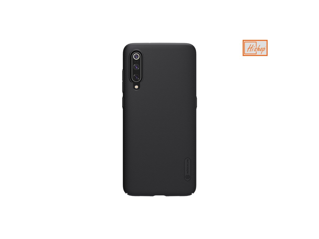 eng pm Nillkin Super Frosted Shield Case kickstand for Xiaomi Mi 9 black 48589 2