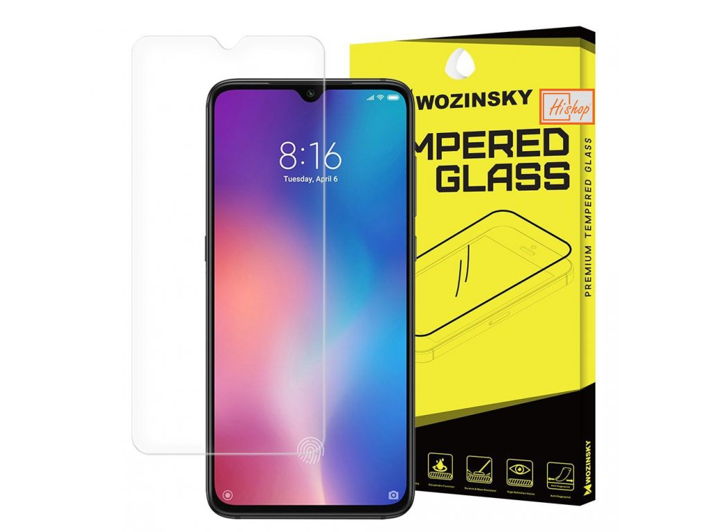 eng pl Wozinsky Tempered Glass 9H Screen Protector for Xiaomi Mi 9 49680 1