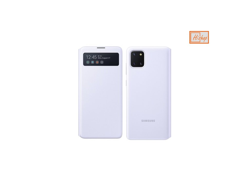 eng ps Samsung S View Wallet Bookcase with Intelligent Display for Samsung Galaxy Note 10 Lite white EF EN770PWEGEU 57603 1