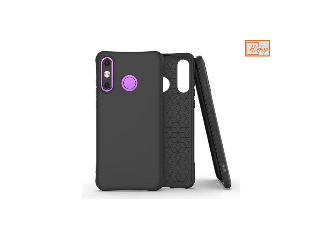 pol pm Soft Color Case elastyczne zelowe etui do Huawei P30 Lite czarny 61426 1