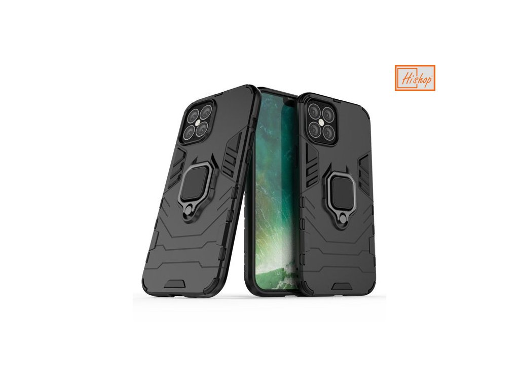 eng pm Ring Armor Case Kickstand Tough Rugged Cover for iPhone 12 Pro Max black 63826 1