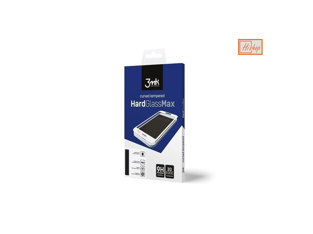pol pm 3MK HardGlass Max Huawei P40 Pro czarny black FullScreen Glass 59909 1