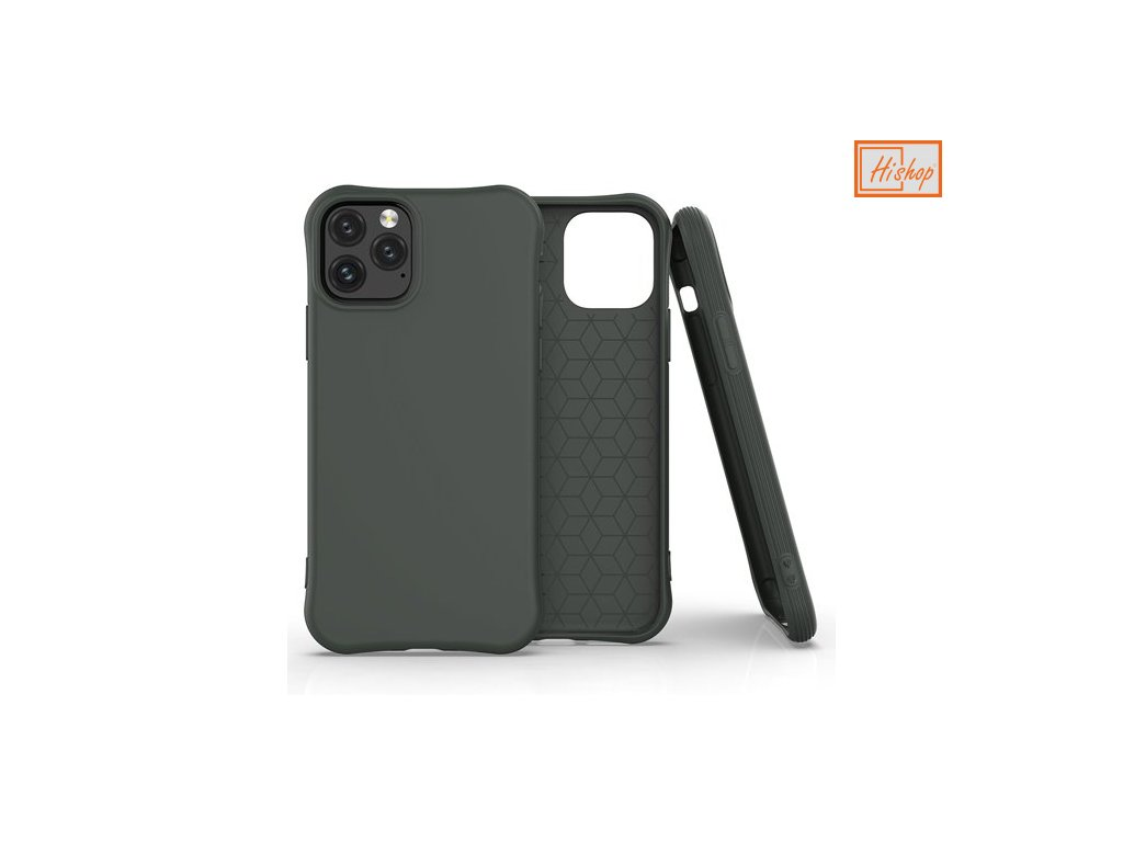 pol pm Soft Color Case elastyczne zelowe etui do iPhone 11 Pro ciemnozielony 61445 1