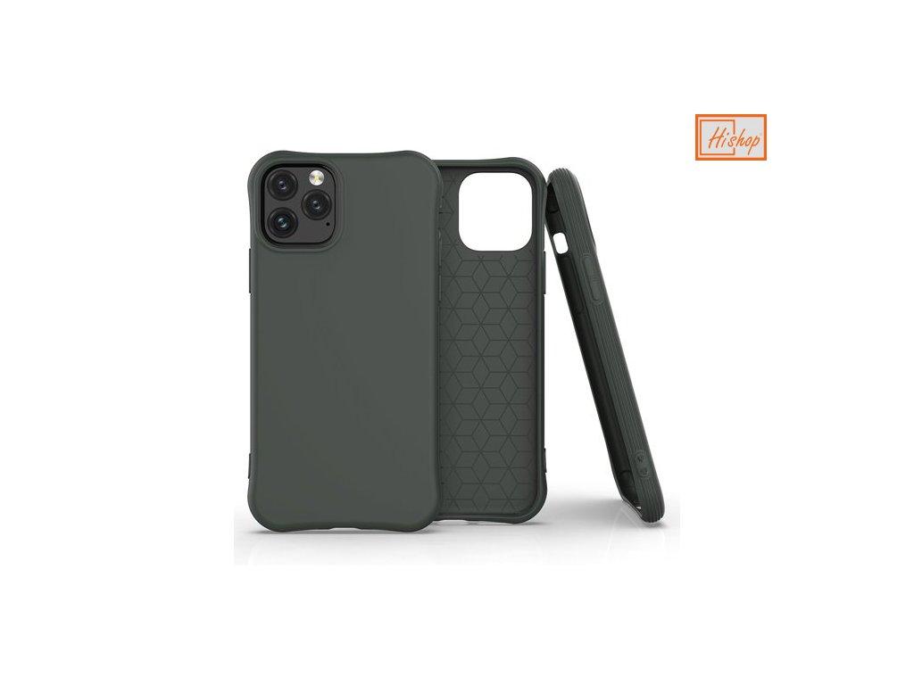 pol pm Soft Color Case elastyczne zelowe etui do iPhone 11 Pro ciemnozielony 61445 1