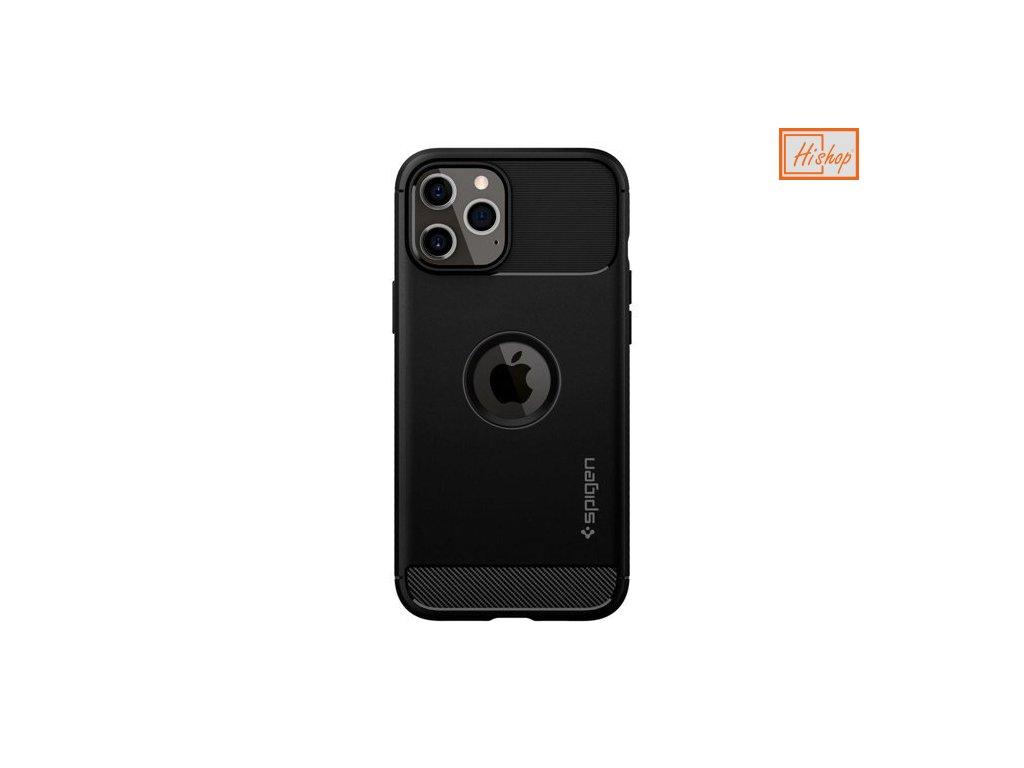 eng pm Spigen Rugged Armor iPhone 12 Pro iPhone 12 Matte Black 64011 1