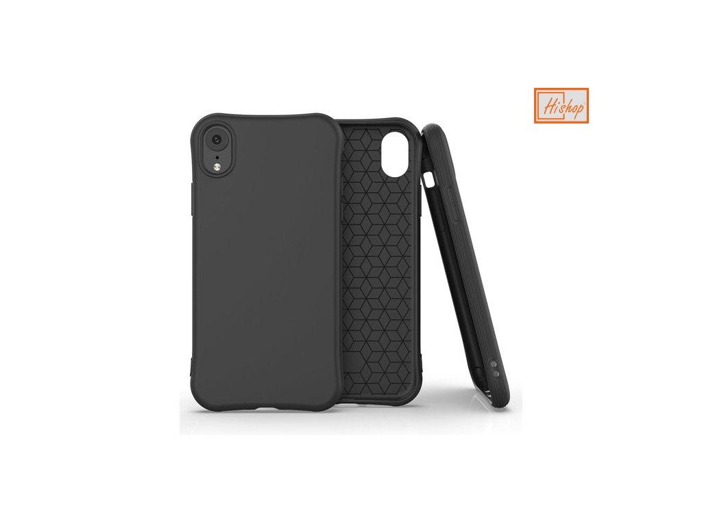 pol pm Soft Color Case elastyczne zelowe etui do iPhone XR czarny 61470 1