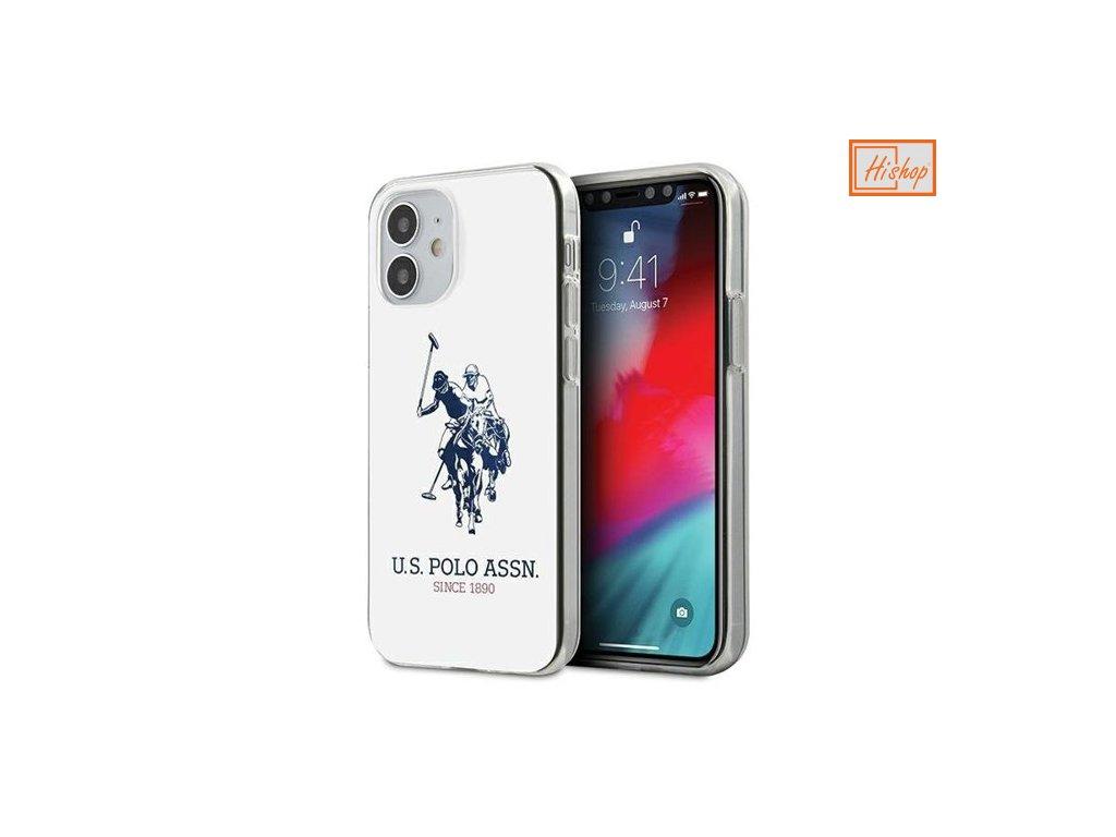 eng pm US Polo USHCP12STPUHRWH iPhone 12 mini bialy white Shiny Big Logo 64597 1