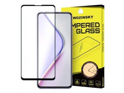 pol pm Wozinsky super wytrzymale szklo hartowane Full Glue na caly ekran z ramka Case Friendly Xiaomi Redmi K30 Pro Poco F2 Pro czarny 61837 1