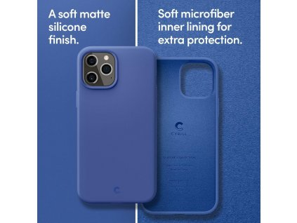 pol pl Spigen Cyrill Silicone iPhone 12 Pro iPhone 12 Navy 64712 9
