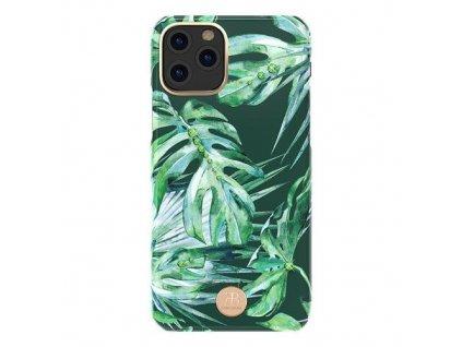 pol pm Kingxbar Blossom etui ozdobione oryginalnymi Krysztalami Swarovskiego iPhone 11 Pro Max wielokolorowy Leaf 62187 1