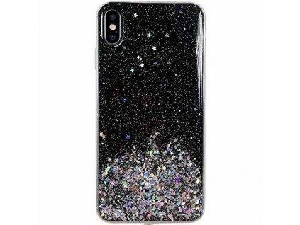 pol pm Wozinsky Star Glitter blyszczace etui pokrowiec z brokatem Huawei P40 Lite Nova 7i Nova 6 SE czarny 62251 1