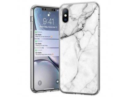 pol pm Wozinsky Marble zelowe etui pokrowiec marmur iPhone 12 Pro Max bialy 62333 1