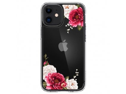 pol pm Spigen Cyrill Cecile Iphone 12 Mini Red Floral 64727 1