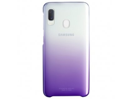 eng pm SAMSUNG Gradation Cover Galaxy A20e Violet 66075 1