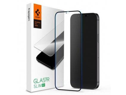 eng pm Szklo Hartowane Spigen Glass Fc Iphone 12 Mini Black 64754 1